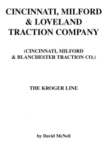 CM&L Traction Company