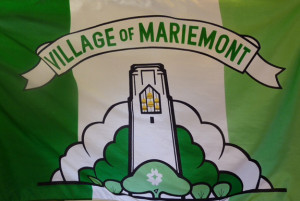 Official Village of Mariemont Flag