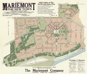 John Nolan's General Plan of Mariemont (Color)